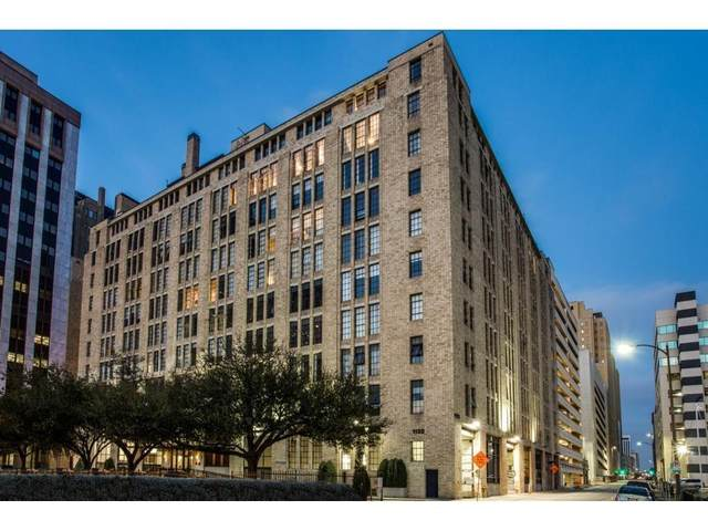 1122 Jackson Street #509, Dallas, TX 75202 (MLS #14379251) :: Results Property Group