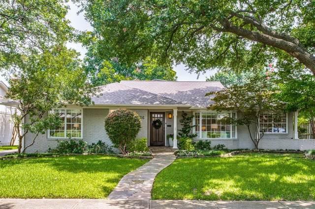 6726 Inverness Lane, Dallas, TX 75214 (MLS #14379273) :: The Mauelshagen Group