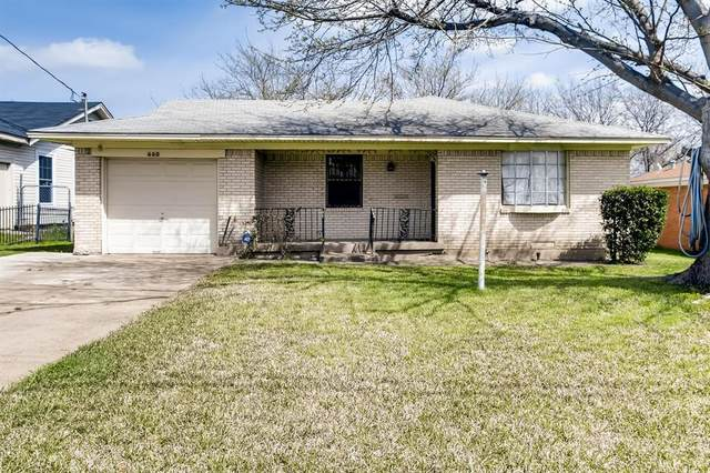 2660 Downing Avenue, Dallas, TX 75216 (MLS #14379338) :: The Hornburg Real Estate Group
