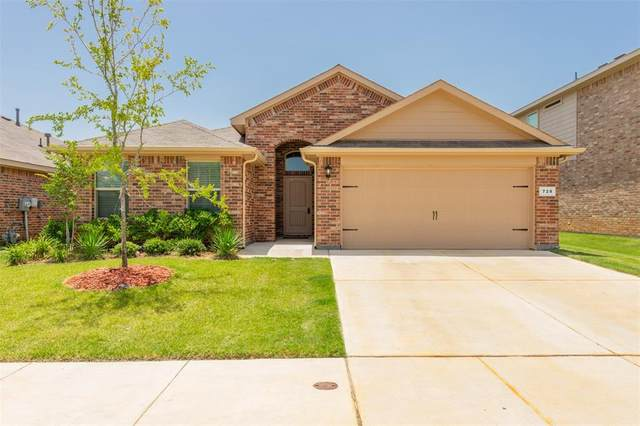 728 Rutherford Drive, Crowley, TX 76036 (MLS #14379357) :: Baldree Home Team