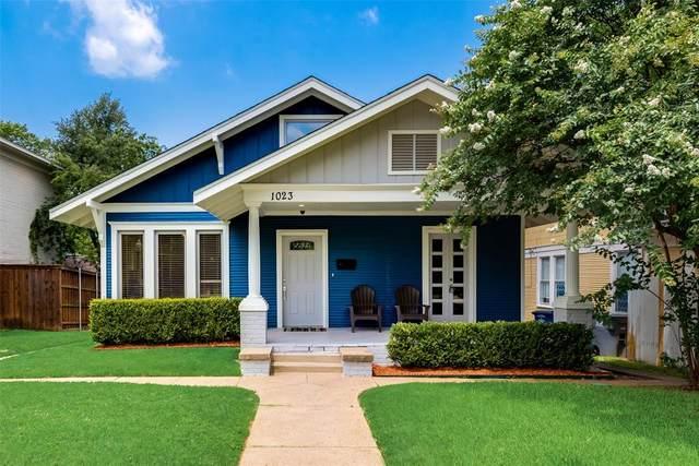 1023 N Bishop Avenue, Dallas, TX 75208 (MLS #14379604) :: Tenesha Lusk Realty Group