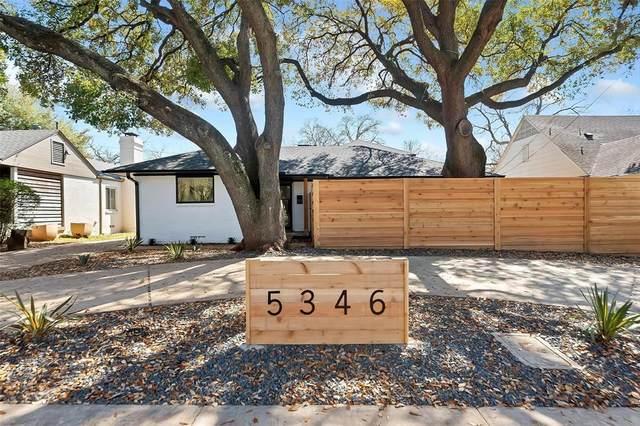 5346 W Mockingbird Lane, Dallas, TX 75209 (MLS #14379855) :: EXIT Realty Elite