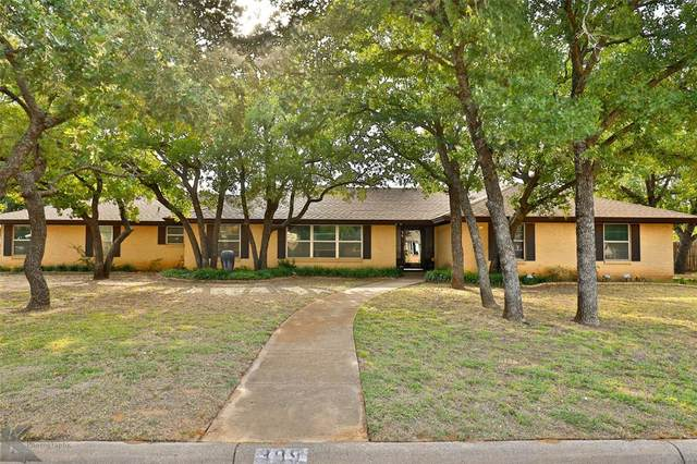 309 Shalimar, Clyde, TX 79510 (MLS #14380283) :: The Chad Smith Team