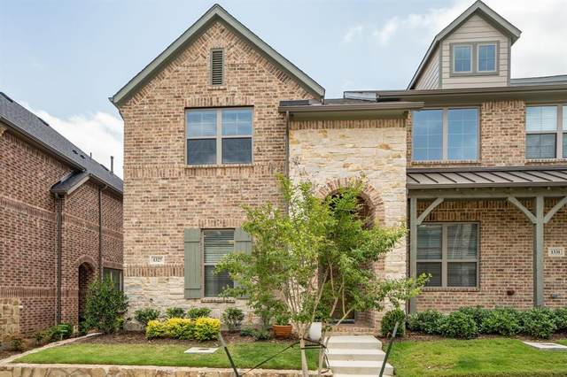 1327 Casselberry Drive, Flower Mound, TX 75028 (MLS #14380298) :: Real Estate By Design