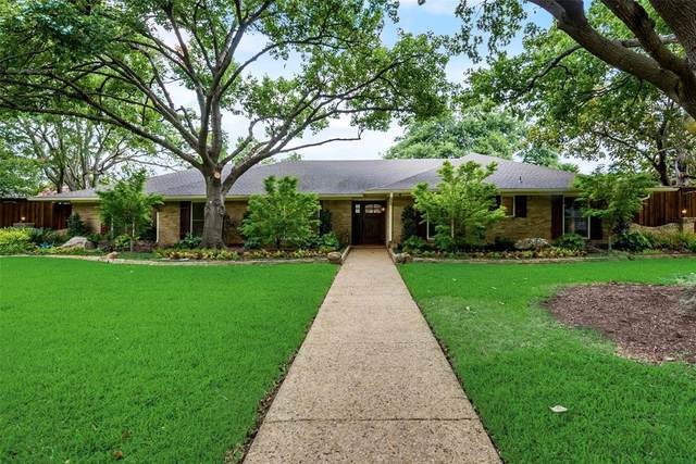 4425 Mill Run Road, Dallas, TX 75244 (MLS #14380394) :: Real Estate By Design