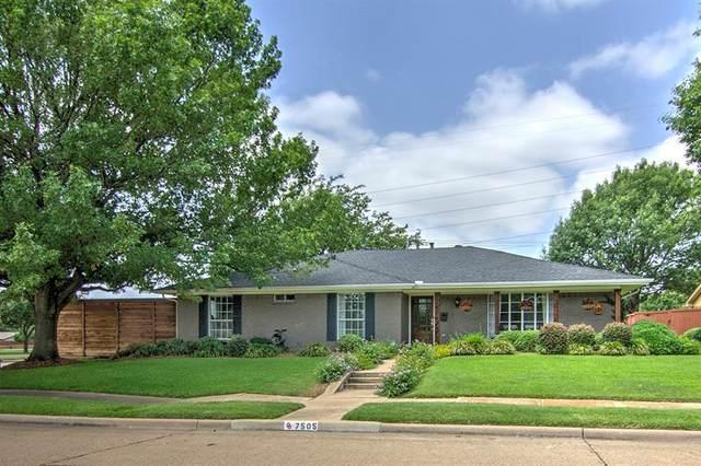7505 La Avenida Drive, Dallas, TX 75248 (MLS #14380457) :: Justin Bassett Realty
