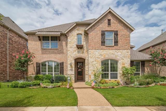 512 Four Stones Boulevard, Lewisville, TX 75056 (MLS #14380592) :: The Kimberly Davis Group