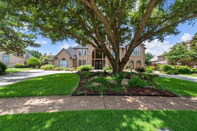 7304 Belle Meade Drive, Colleyville, TX 76034 (MLS #14380645) :: The Rhodes Team