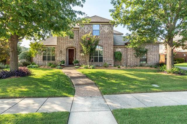 861 High Willow Drive, Prosper, TX 75078 (MLS #14380767) :: All Cities USA Realty