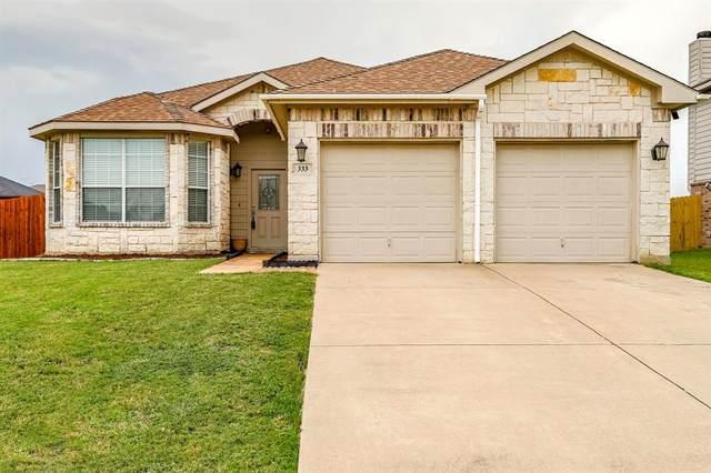 333 Saddlebrook Drive, Krum, TX 76249 (MLS #14381354) :: The Kimberly Davis Group