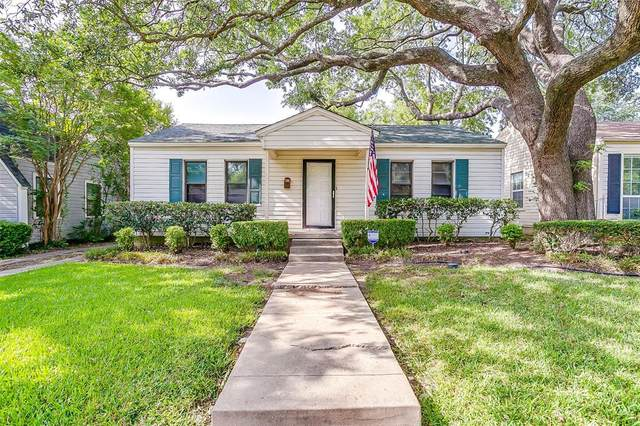 3821 Linden Avenue, Fort Worth, TX 76107 (MLS #14381640) :: Justin Bassett Realty