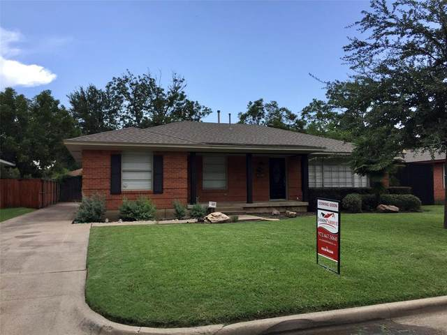 7223 Edgerton Drive, Dallas, TX 75231 (MLS #14381688) :: Justin Bassett Realty