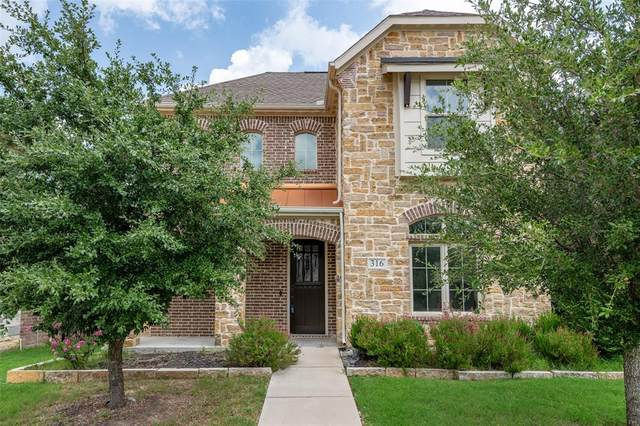 316 Post View Drive, Aledo, TX 76008 (MLS #14381785) :: All Cities USA Realty
