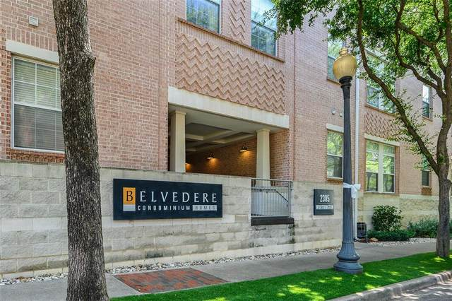 2305 Worthington Street #318, Dallas, TX 75204 (MLS #14382096) :: The Chad Smith Team
