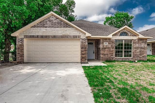 114 W 8th Street, Lancaster, TX 75154 (MLS #14382164) :: Baldree Home Team