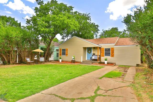 1302 Graham Street, Abilene, TX 79603 (MLS #14382511) :: The Chad Smith Team