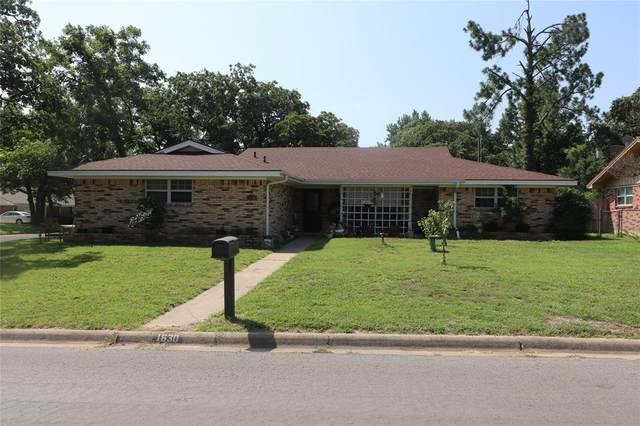 1630 W Overhill Drive, Stephenville, TX 76401 (MLS #14382926) :: Team Hodnett