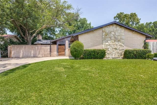 4317 Justice Lane, Garland, TX 75042 (MLS #14383238) :: Team Hodnett