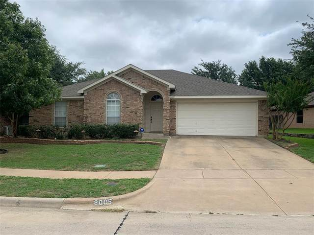 8005 Mourning Dove Drive, Arlington, TX 76002 (MLS #14383259) :: The Good Home Team