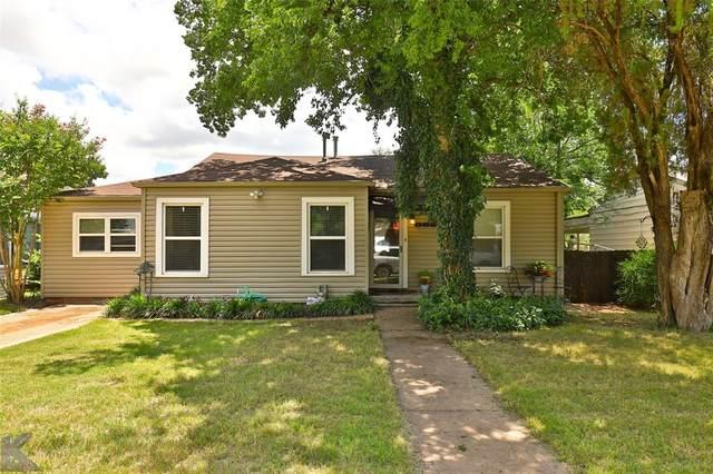 865 Davis Drive, Abilene, TX 79605 (MLS #14383288) :: Real Estate By Design