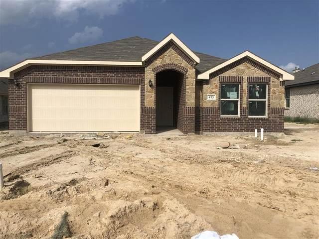 413 Escondido Street, Weatherford, TX 76087 (MLS #14383512) :: Team Tiller