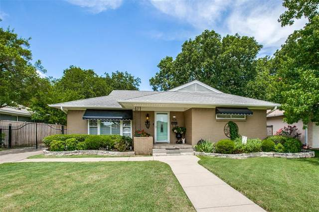 506 Westwood Drive, Richardson, TX 75080 (MLS #14383610) :: The Hornburg Real Estate Group