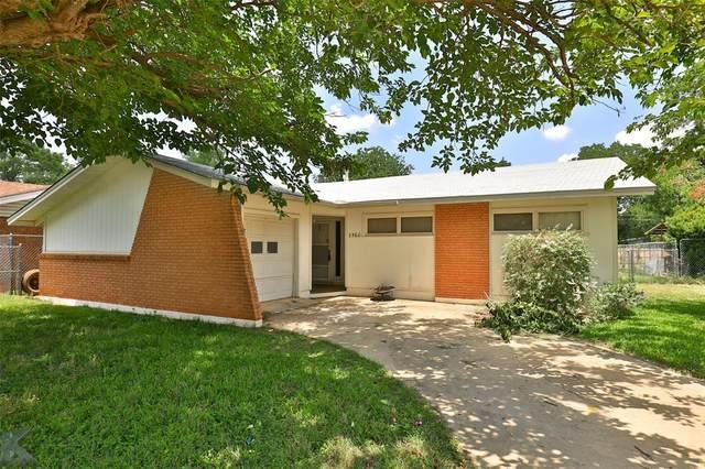 3560 N 9th Street, Abilene, TX 79603 (MLS #14383850) :: Real Estate By Design