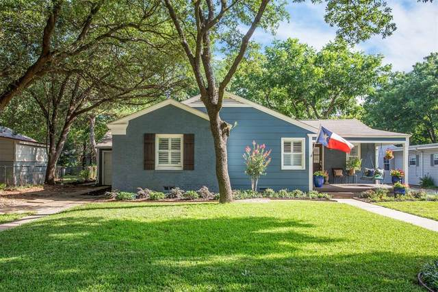 6436 Kenwick Avenue, Fort Worth, TX 76116 (MLS #14384119) :: The Mauelshagen Group