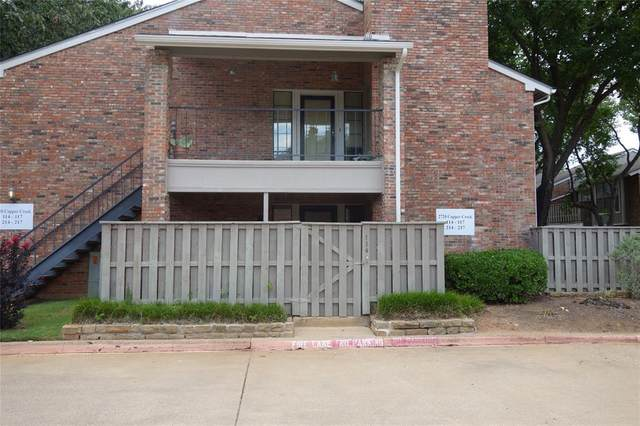 2720 Copper Creek Drive #114, Arlington, TX 76006 (MLS #14384121) :: Results Property Group