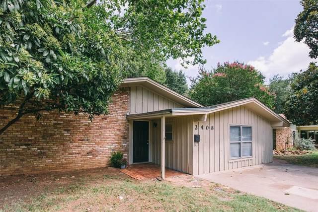 2408 Fowler Drive, Denton, TX 76209 (MLS #14384471) :: Tenesha Lusk Realty Group