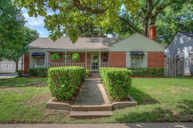 4201 Calmont Avenue, Fort Worth, TX 76107 (MLS #14384582) :: The Mauelshagen Group