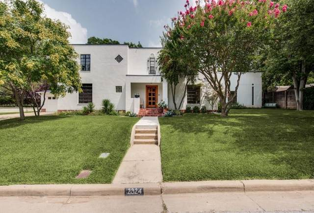 2324 Mistletoe Drive, Fort Worth, TX 76110 (MLS #14384719) :: All Cities USA Realty
