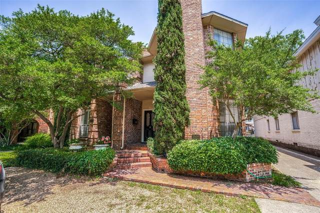 3508 Asbury Street, University Park, TX 75205 (MLS #14384754) :: All Cities USA Realty