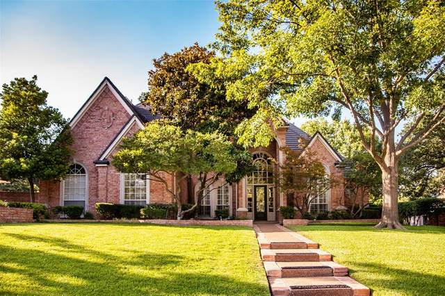 3004 Edgewood Lane, Colleyville, TX 76034 (MLS #14384825) :: The Mauelshagen Group