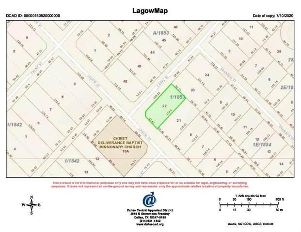 2628 Lagow Street, Dallas, TX 75210 (MLS #14384895) :: Potts Realty Group