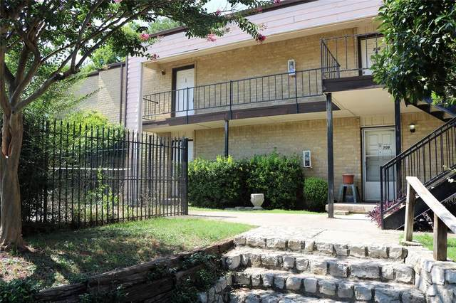 6004 Westridge Lane #708, Fort Worth, TX 76116 (MLS #14384909) :: The Mauelshagen Group