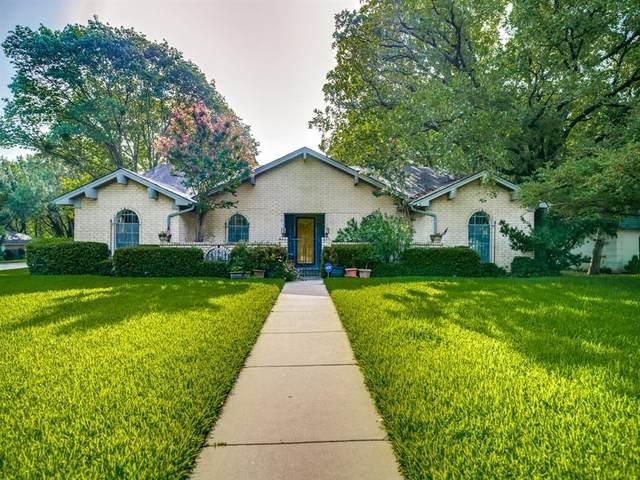 1801 Ridgeside Drive, Arlington, TX 76013 (MLS #14384926) :: The Mauelshagen Group
