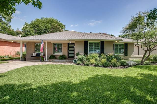 6811 Vada Drive, Dallas, TX 75214 (MLS #14384939) :: Baldree Home Team