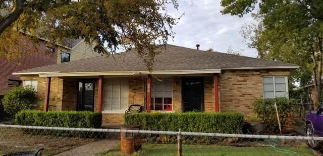 4505 Hopkins, Dallas, TX 75209 (MLS #14385120) :: Team Tiller