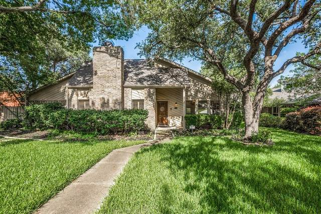 7305 Crofton Drive, Dallas, TX 75231 (MLS #14385308) :: The Mauelshagen Group