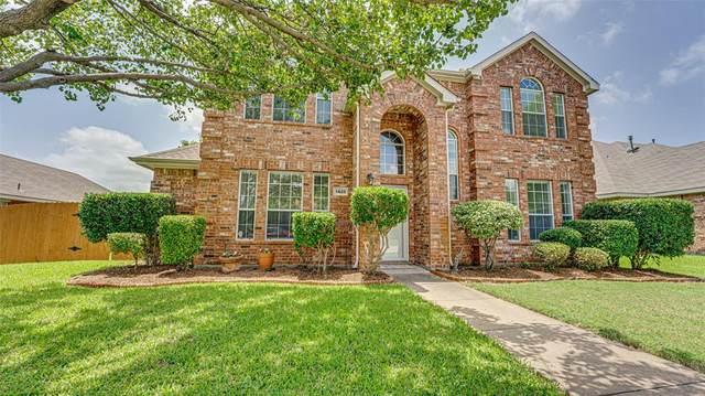 1428 Winterwood Drive, Allen, TX 75002 (MLS #14385330) :: The Mauelshagen Group