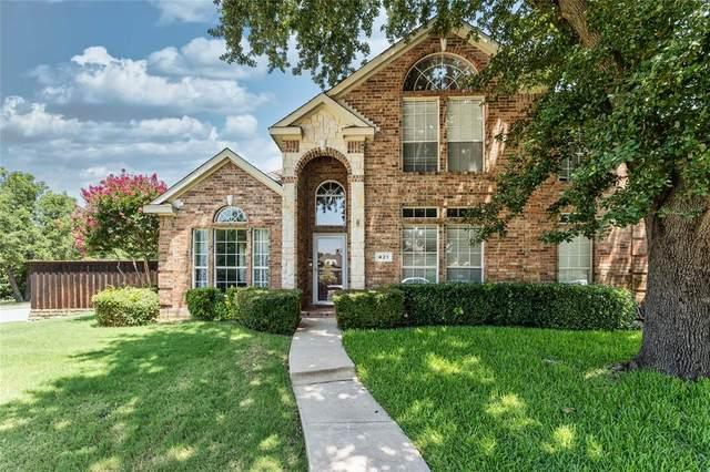 421 Dumas Court, Lewisville, TX 75067 (MLS #14385356) :: Post Oak Realty