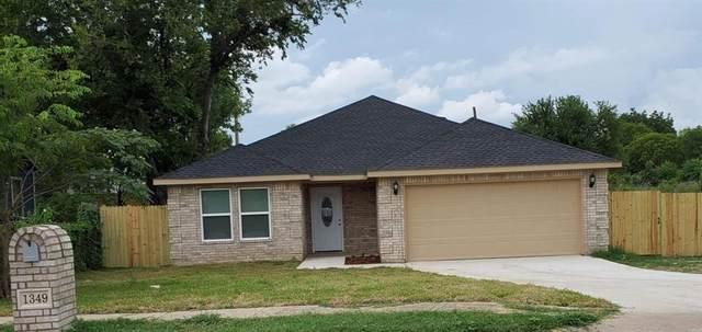 1349 E Jessamine Street, Fort Worth, TX 76104 (MLS #14385501) :: The Daniel Team