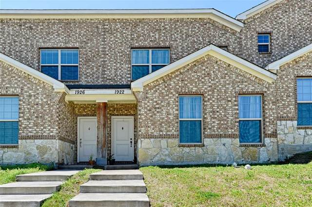 1922 Timber Oaks Drive, Garland, TX 75040 (MLS #14385546) :: Real Estate By Design