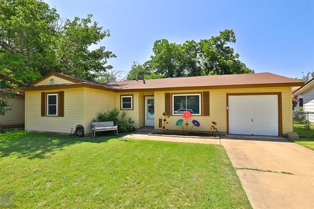 2165 S 33rd Street, Abilene, TX 79605 (MLS #14385666) :: The Daniel Team