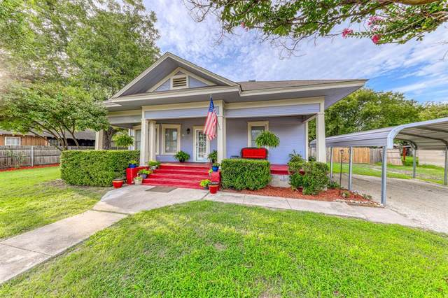 109 Throckmorton Street, Weatherford, TX 76086 (MLS #14385879) :: The Heyl Group at Keller Williams