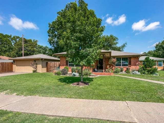 7340 Wake Forrest Drive, Dallas, TX 75214 (MLS #14385981) :: All Cities USA Realty