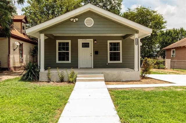2206 Pearl Avenue, Fort Worth, TX 76164 (MLS #14386108) :: Tenesha Lusk Realty Group