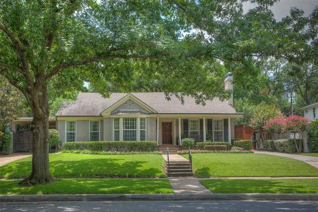 3619 Monticello Drive, Fort Worth, TX 76107 (MLS #14386133) :: The Chad Smith Team