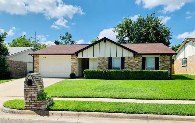 7116 Winchester Road, North Richland Hills, TX 76182 (MLS #14386147) :: The Heyl Group at Keller Williams
